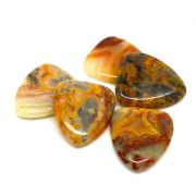 Agate Tones - Crazy Lace - 1 Guitar Pick | Timber Tones